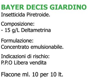 Bayer Decis Giardino