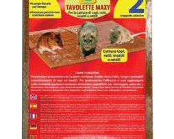 Tavolette Maxi Topicidi e Ratticidi