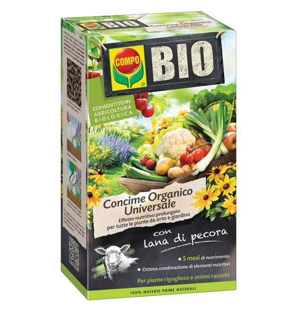 Compo Bio Concime con Lana di Pecora