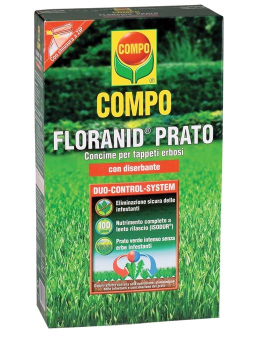 Compo Floranid Prato con Diserbante