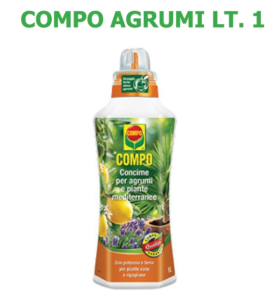 Concime Liquido Compo Agrumi lt 1