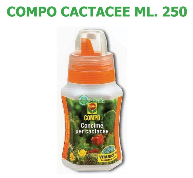 Concime Liquido Compo Cactacee ml 250