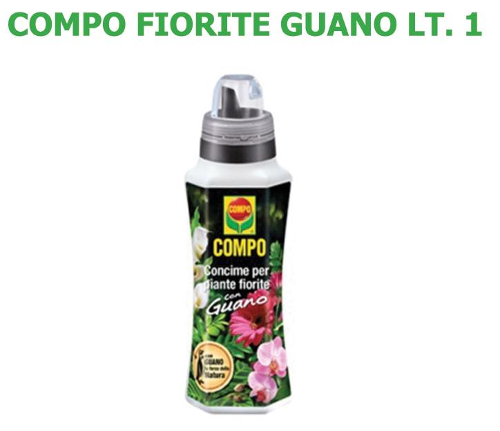 Concime Liquido Compo Fiorite Guano lt 1
