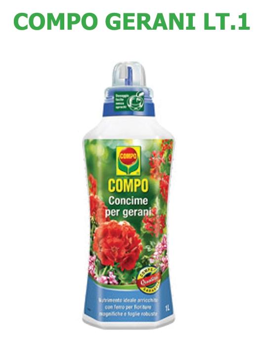 Concime Liquido Compo Gerani lt 1