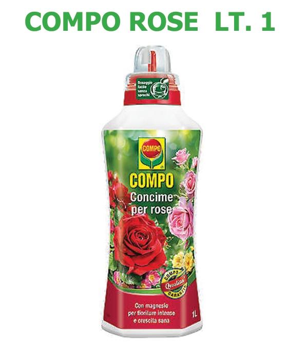 Concime Liquido Compo Rose lt 1